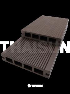 พื้นไม้เทียมแบบกลวง SWB03-C19